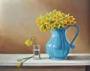 "Valorie Rohver ""Sunlit"" 11x14 oil $750."