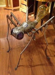 """Jay Seaman """"Bug"""" mixed media sculpture $ Inquire"""