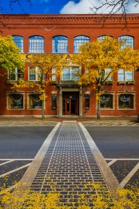 """Chris Walters """"Fall Foliage in Corning's Gaffer District"""" inquire for available ordering options"""