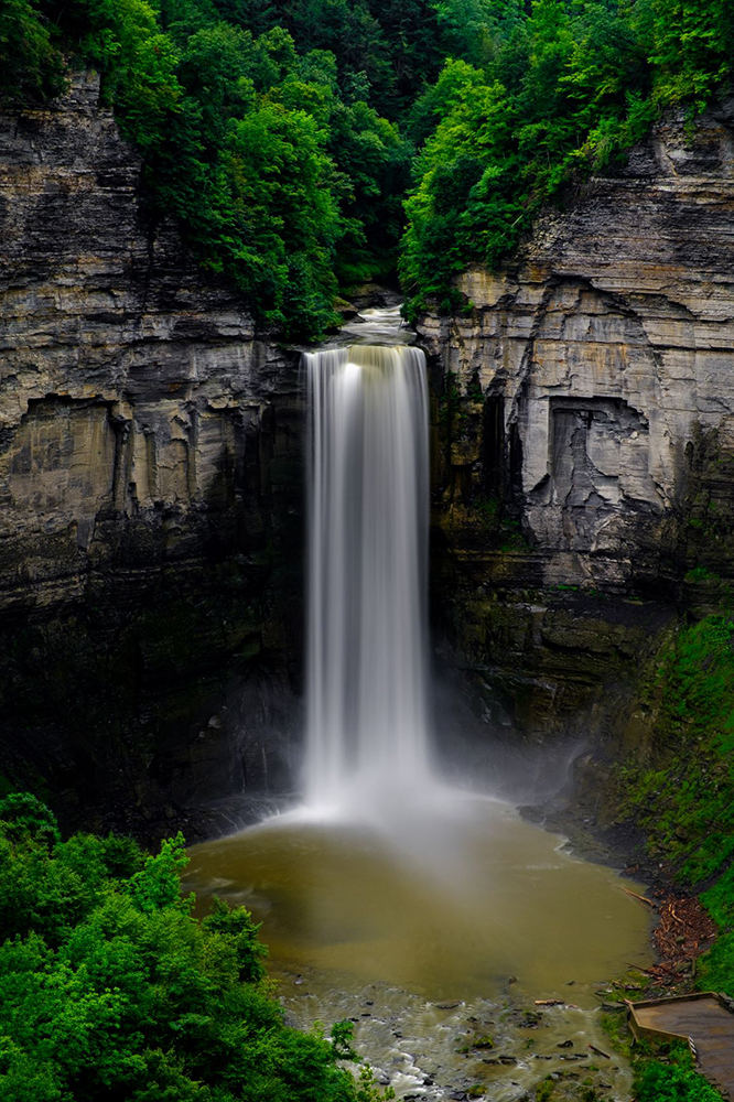 "Chris Walters ""Taughannock Falls"" Inquire for availability and additional ordering options"