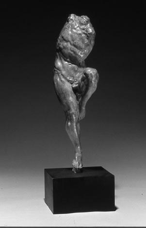 "Gary Weisman ""Return"" 20"" x 5.5"" x 7.5"" bronze $6,000."