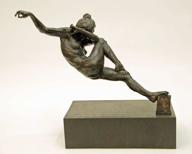 "Gary Weisman ""Verdire Notte"" bronze $6,000."
