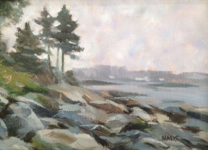 Bialke Gray Day On The Cove