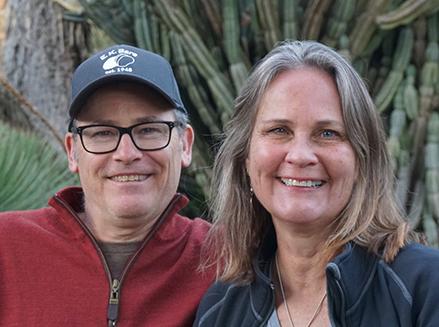 WillseaOBrien web - Paul Willsea and <br> Carol O'Brien