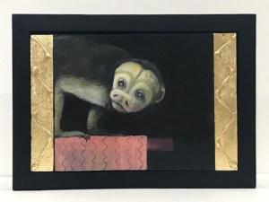 "Treacy Ziegler ""The Night Monkey"" 11x14 oil/panel $1,500."