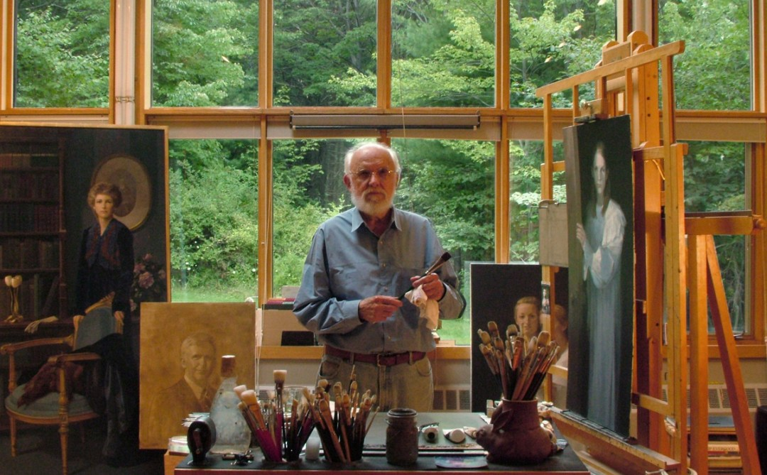 tom buechner studio 2010 - Thomas S. Buechner: Caricatures