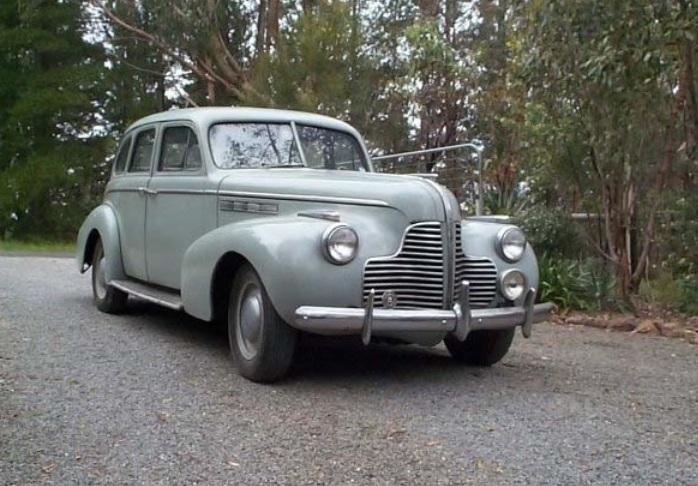 1940 Buick Sedan