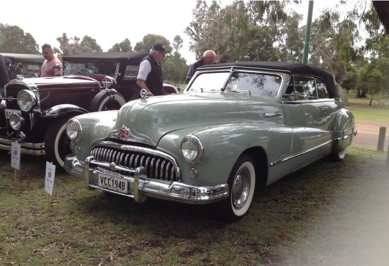 1948 Buick 48-76C Roadmaster Convertible