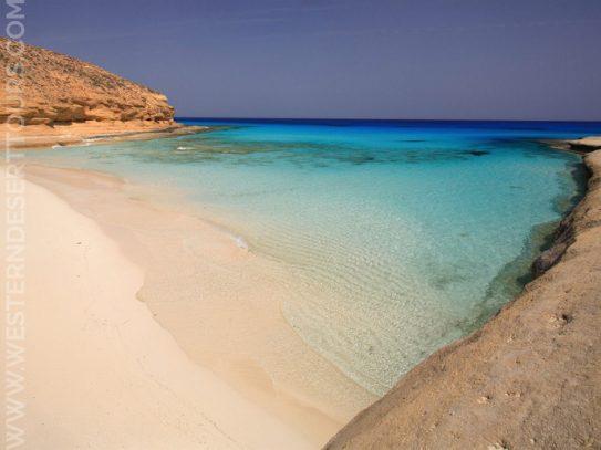 Agiba Beach in Marsa Matrouh
