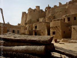 Buildings in Shali in Siwa Oasis