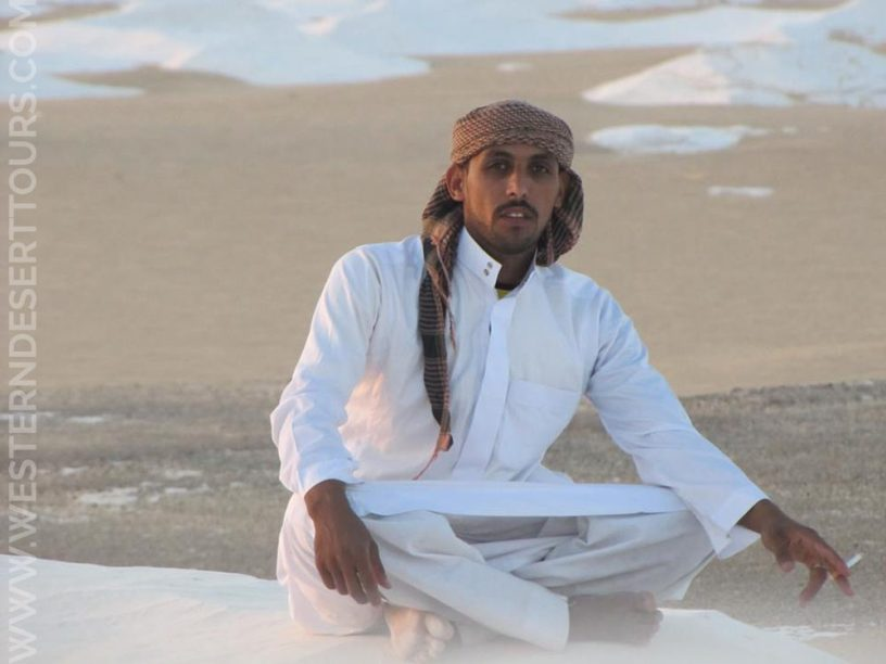 Mahmoud is a member of the team at Western Desert Tours. As a cook he is responsible for food and beverages on our tours.
