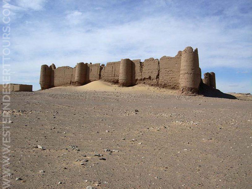 Roman fortress Deir al-Munira