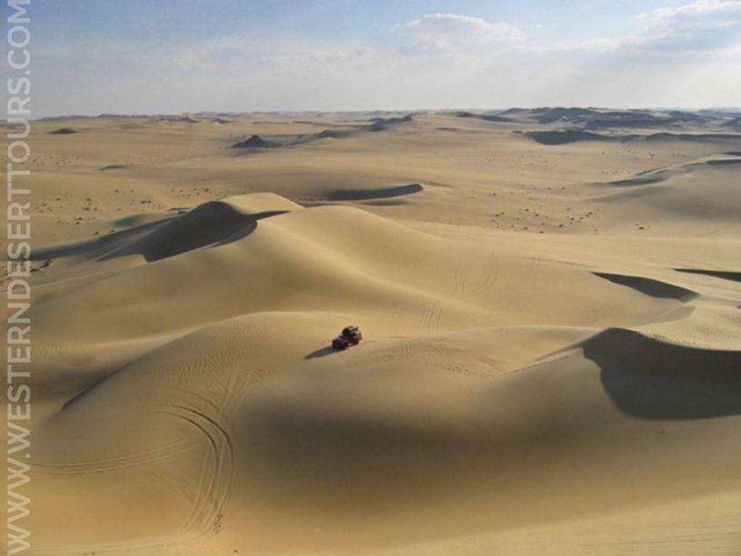 Sand dunes in the Great Sand Sea 4