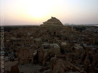 Shali at sunset