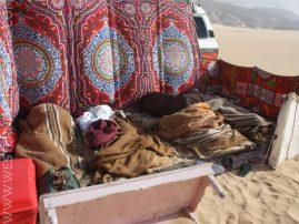 Sleeping in the Western Desert