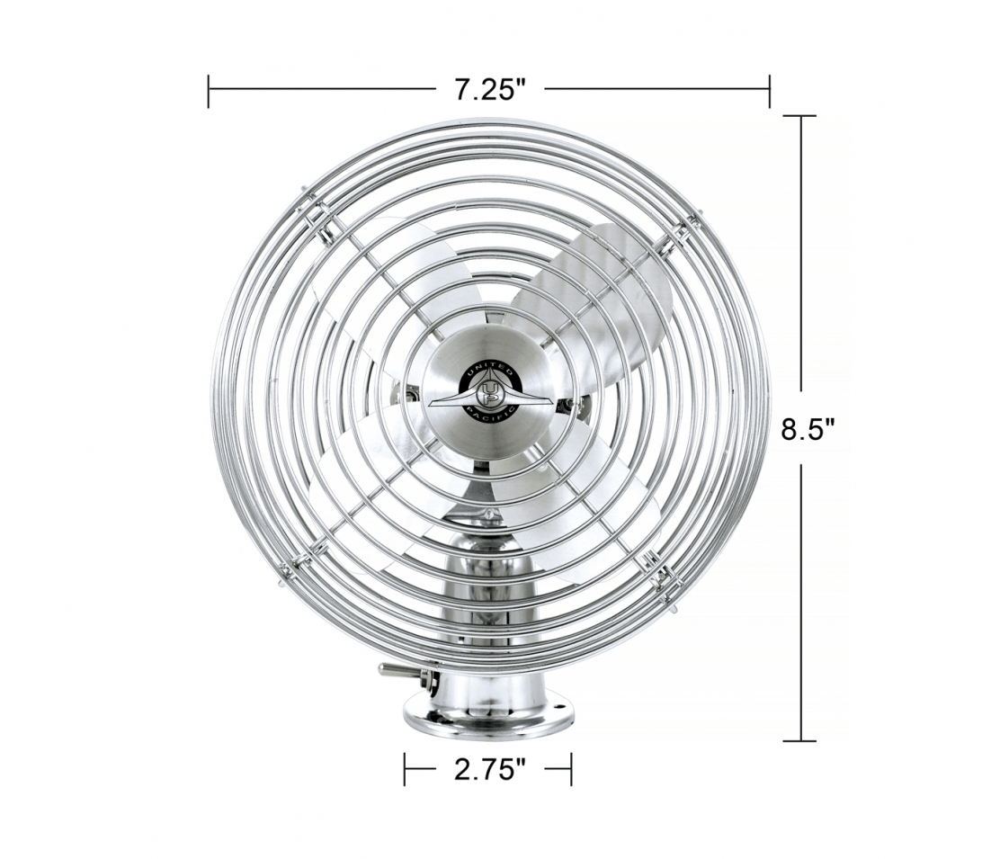 6 Steel Blade Heavy Duty Fan