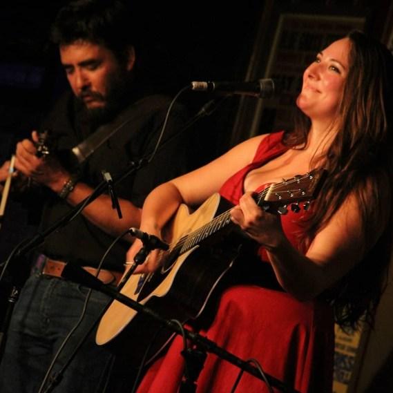 Tessy Lou performs at Western Edge in Fredericksburg, Texas