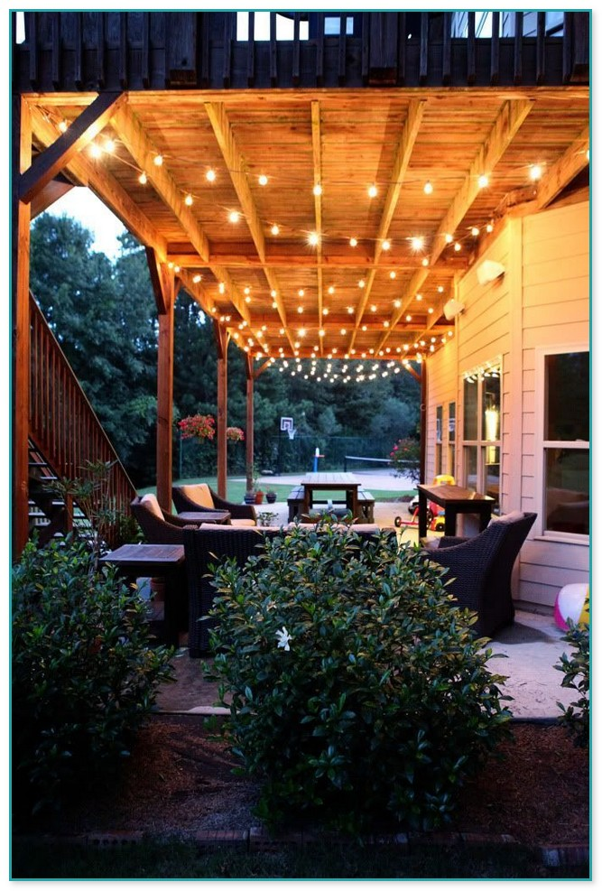 Under Deck Lighting Ideas Home Improvement