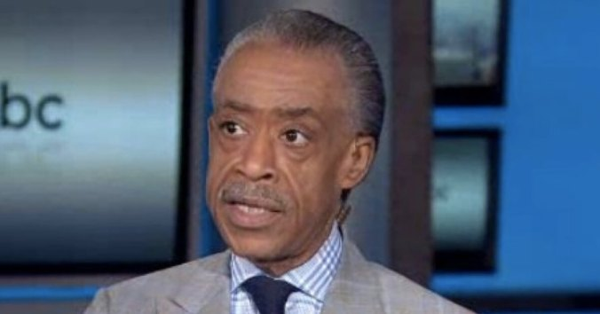 Al Sharpton during an appearance on MSNBC.