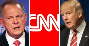 CNN Claims Trump Will Campaign for Alabama Senate Candidate Roy Moore... in Florida