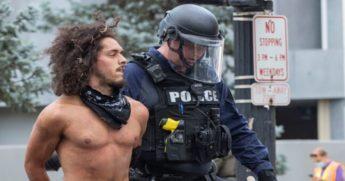 Steven Lopez is arrested in Louisville on June 17, 2020.