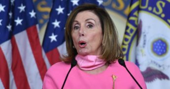 House Speaker Nancy Pelosi pictured during a June 4 news conference in the Capitol.