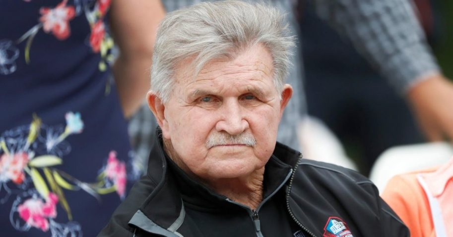 Former Chicago Bears coach and Hall of Fame tight end Mike Ditka, pictured in a 2019 file photo.