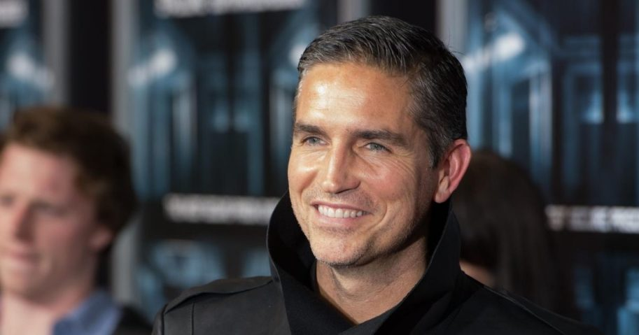 "Actor Jim Caviezel attends the ""Escape Plan"" New York Premiere at Regal E-Walk on Oct. 15, 2013, in New York City."