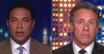 CNN hosts Don Lemon, left, and Chris Cuomo denigrate poor white people on-air.