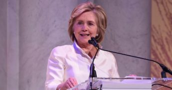 Former Secretary of State Hillary Cinton, pictured in a February file photo in Washington.