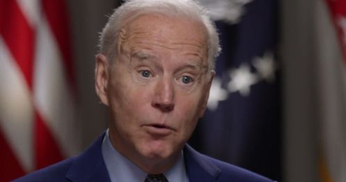 """President Joe Biden speaks on NBC's """"Today"""" about the pandemic on Friday."""