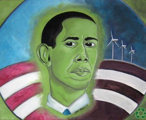obama green face522 Green Corruption Goes Deep In Obama Administration