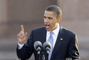 Barack Obama speech 9 SC 300x205 What Is Obamas Problem With Oil Speculation?