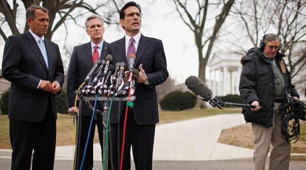 Cantor Boehner Republican Congress SC Shameless