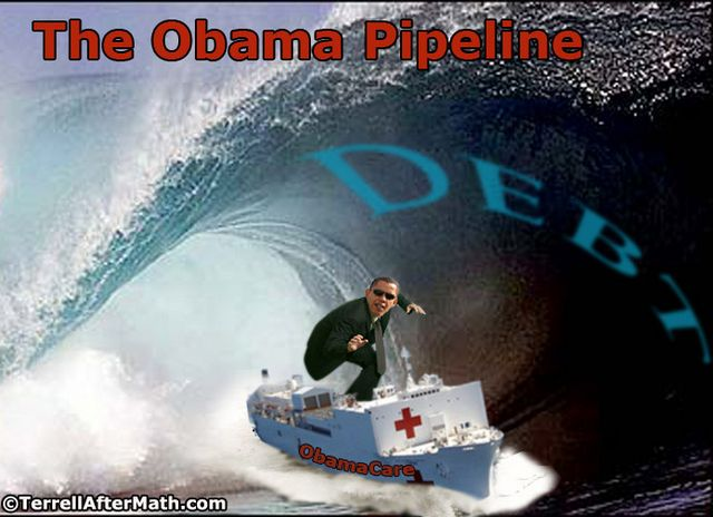 Obama Debt Pipeline Surfer SC Obamas Second Degree Of Separation