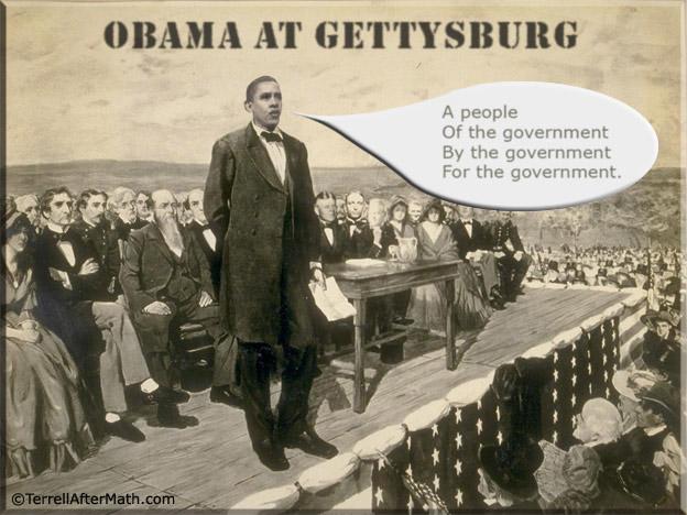 Obama At Gettysburg SC