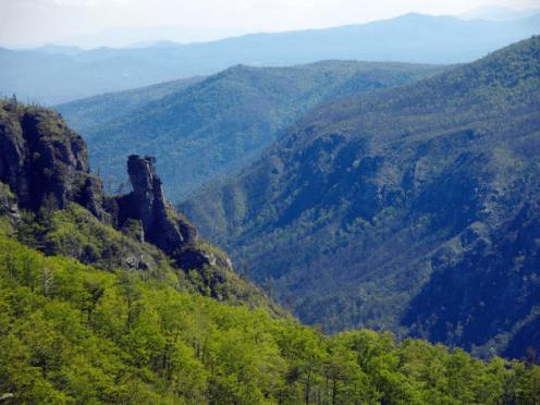 Linvile gorge