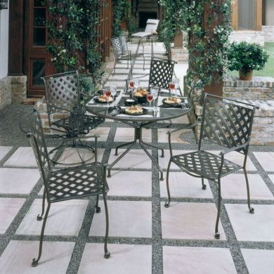 Western    Wrought Iron Patio Furniture     Wrought Iron Patio Furniture  Woodard    Maddox