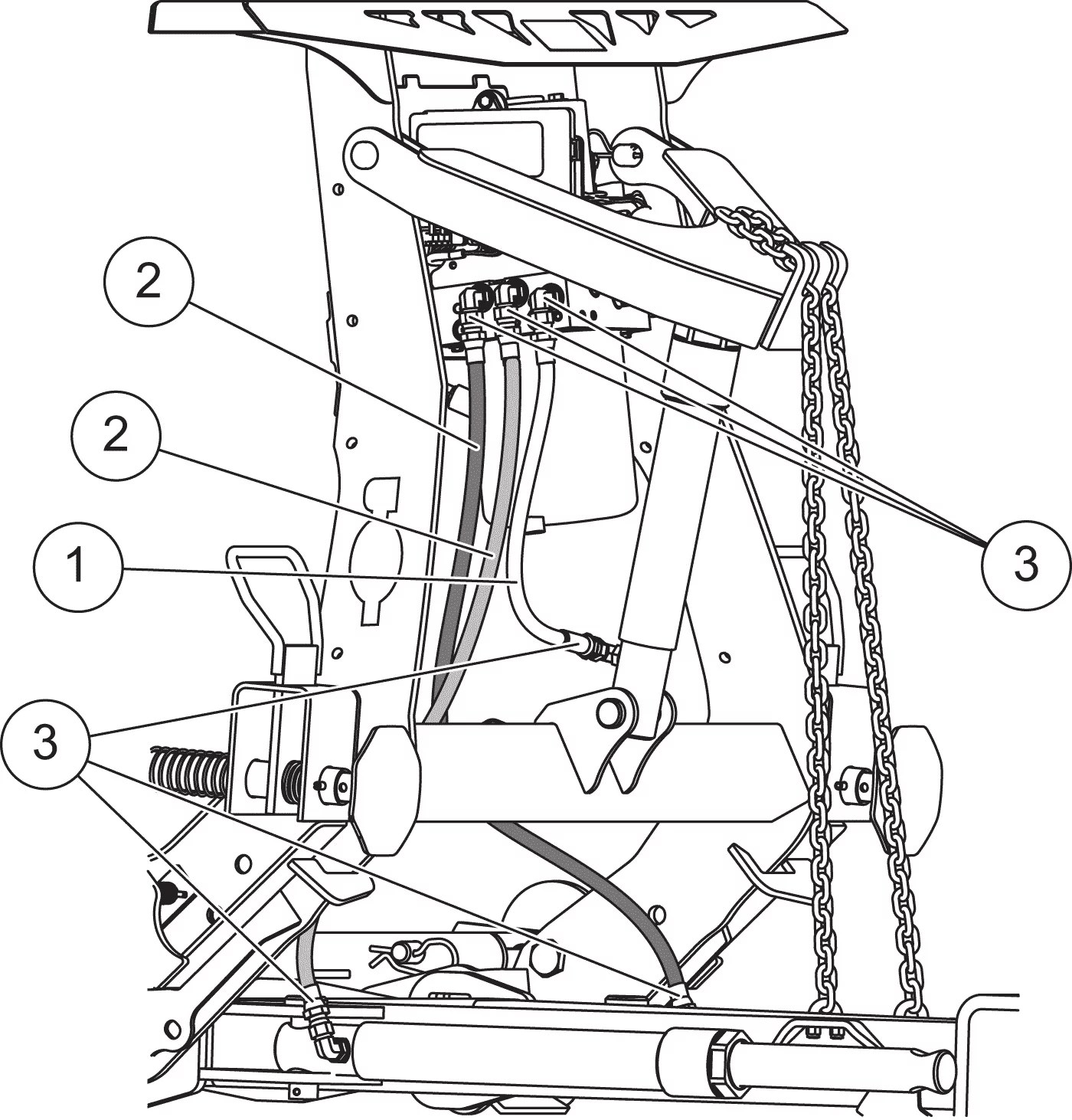 Diagram Of Western Plow