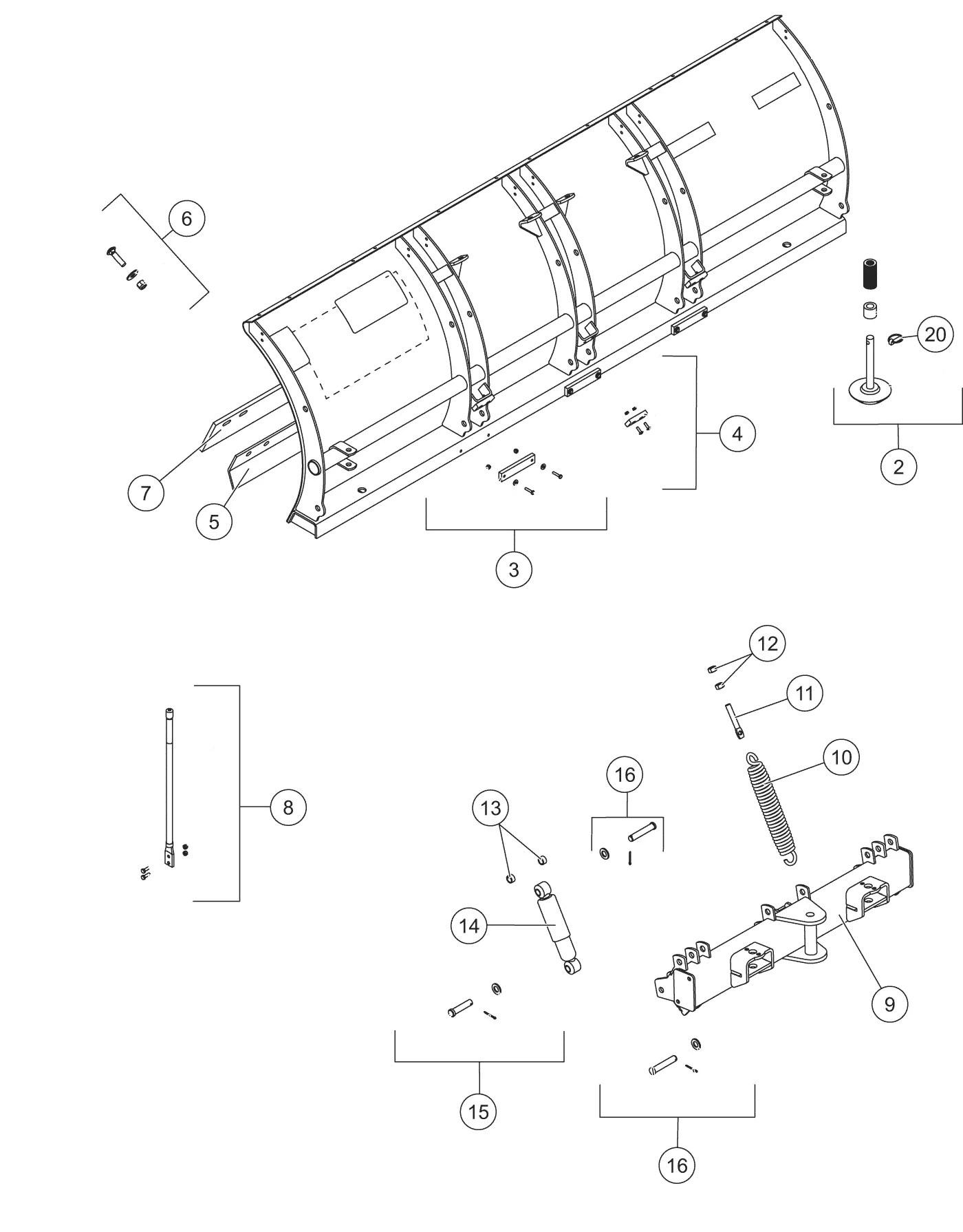 Pro Plus Blade Quadrant Diagram