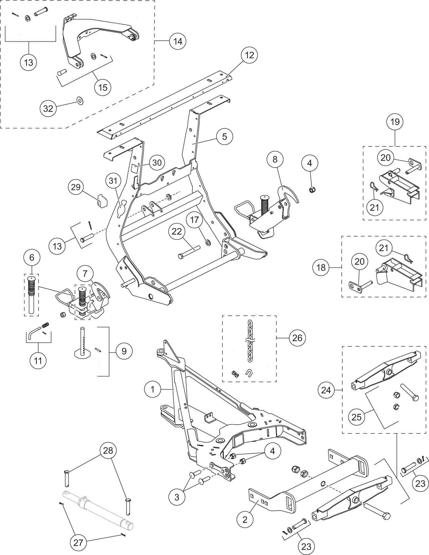 Western Snow Plow Parts Diagram