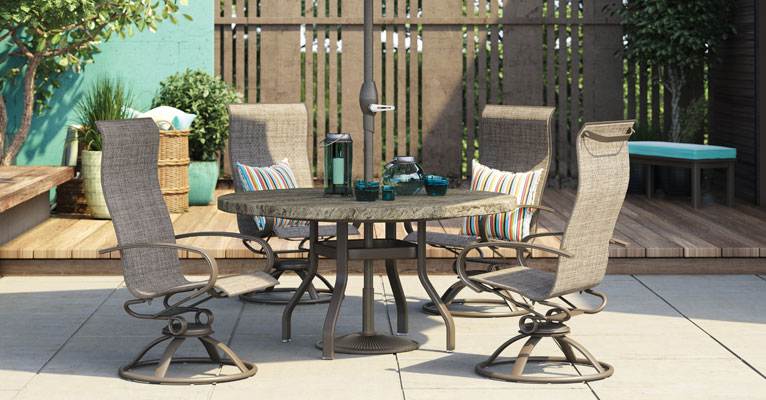 outdoor patio furniture from homecrest