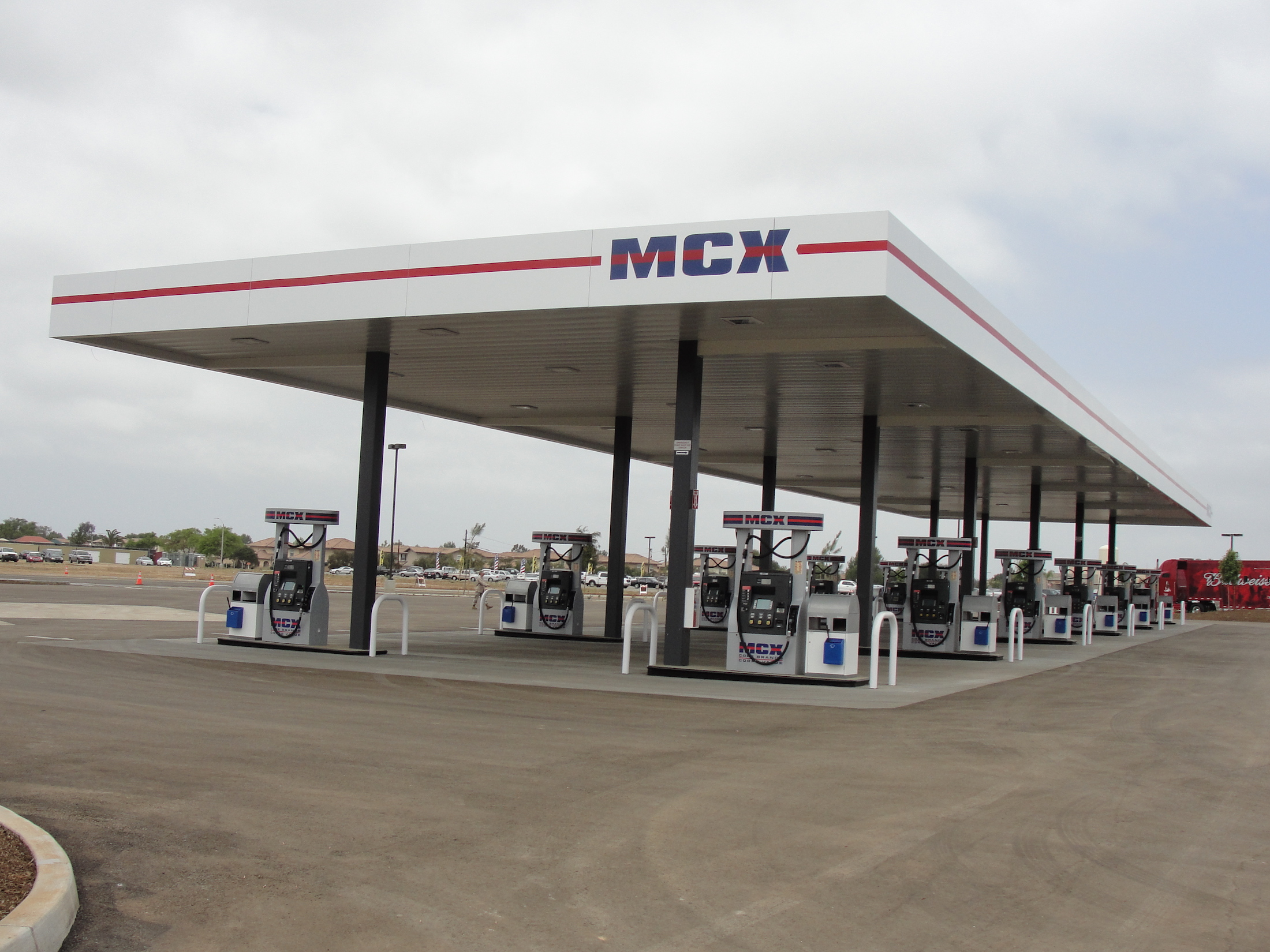 Western Pump | MCX Fuel Station Construction and Build