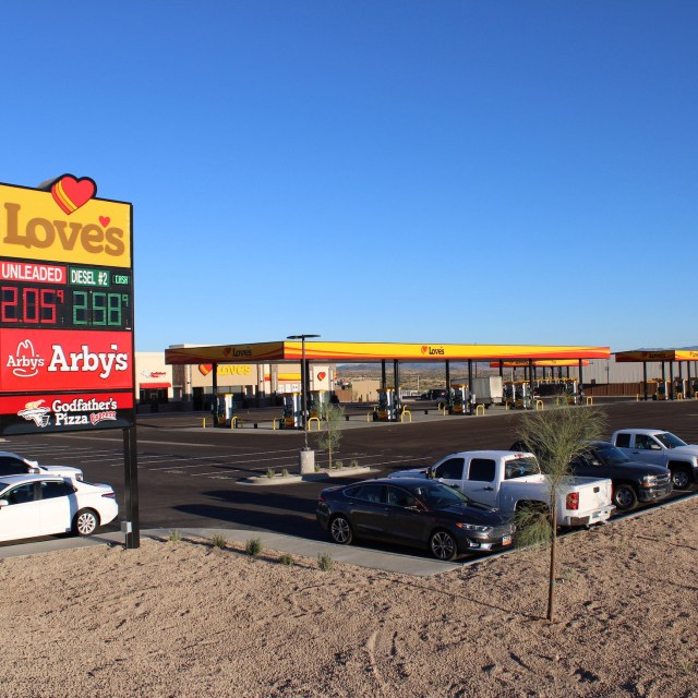 Love's Travel Stop & Country Store - Cordes Junction, AZ - Western Pump Fuel System Installation