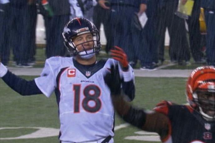 Peyton's Four Interceptions Doom Broncos _3346686576796319754