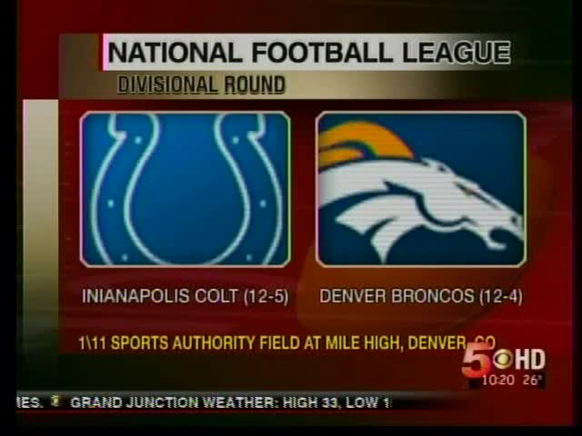 Broncos to Play Colts in Divisional Round_1115945862719359439