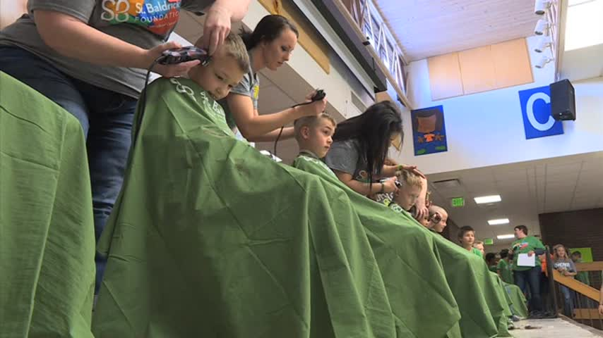 Chatfield Elementary Braves the Shave for Childhood Cancer_69266729-159532