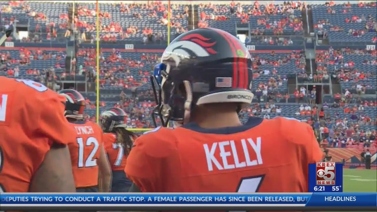Broncos Back Up Quarterback Arrested