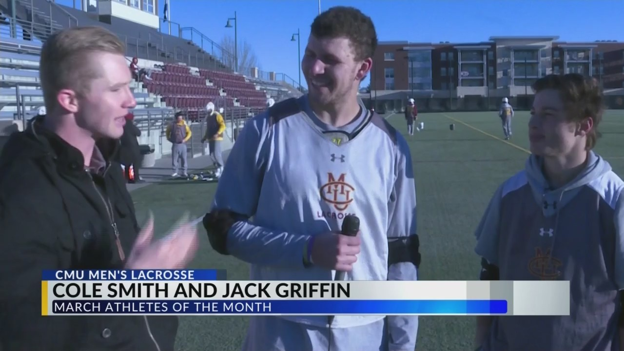 Athletes of the Month: Smith and Griffin