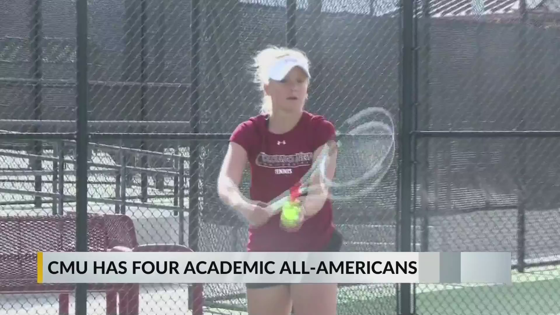 Four Academic All Americans